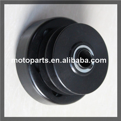 """Two Belt Centrifugal Clutch Pulley 1"""" Bore adjustable belt pulley magnetic pulley for belt conveyor(China (Mainland))"""