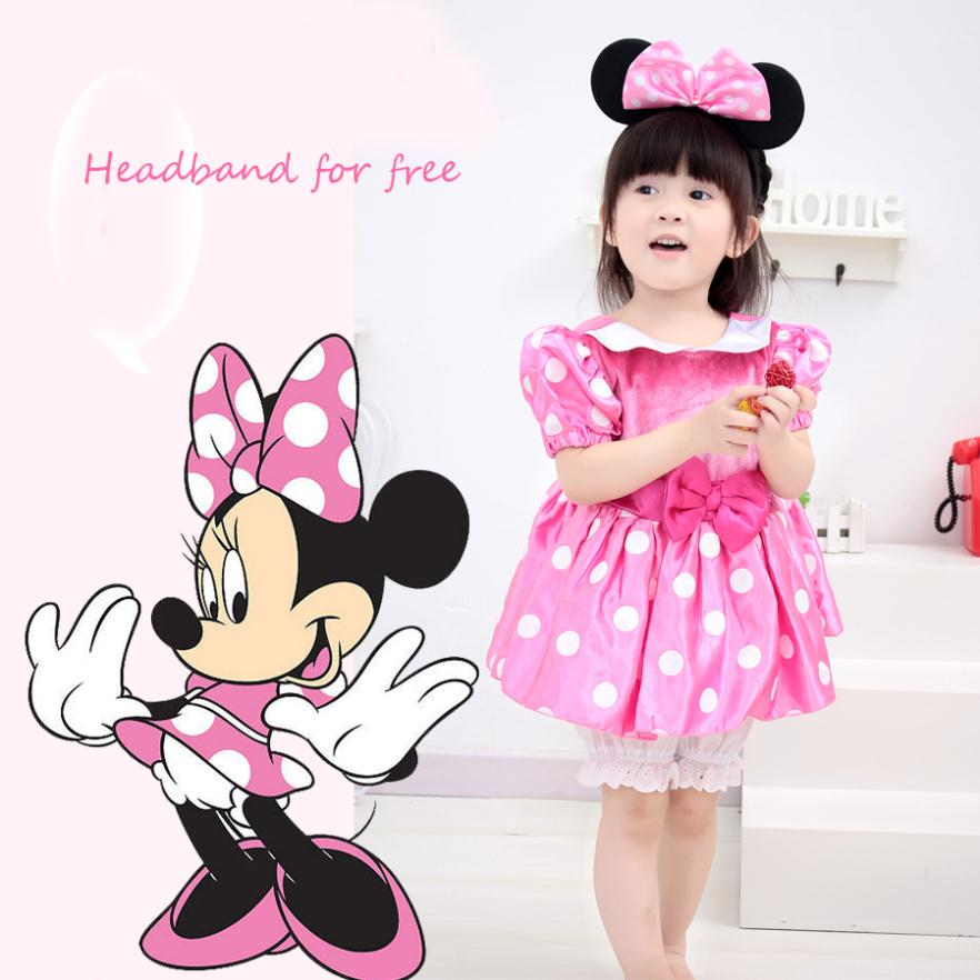 Clubhouse Minnie Mouse Pink Baby Girl Minnie Mouse Pink