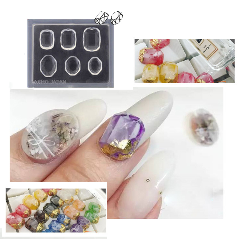 Online buy wholesale 3d nail mold from china 3d nail mold for 3d acrylic nail art mold diy decoration