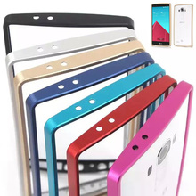 Buy Luxury New Dual Aluminium Metal Bumper Cover Anti Knock Frame Case LG G4 Ultra Thin Slim frame lg g4 phone cases for $3.74 in AliExpress store