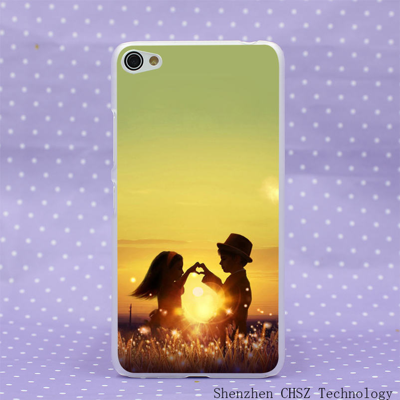 637O Kids At Twilight Hard Clear Case Transparent Cover for Lenovo S60 S850 S90 A328 A536(China (Mainland))