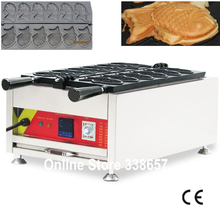 Digital Japanese Taiyaki fish waffle making machine maker iron 220V/110V(China (Mainland))