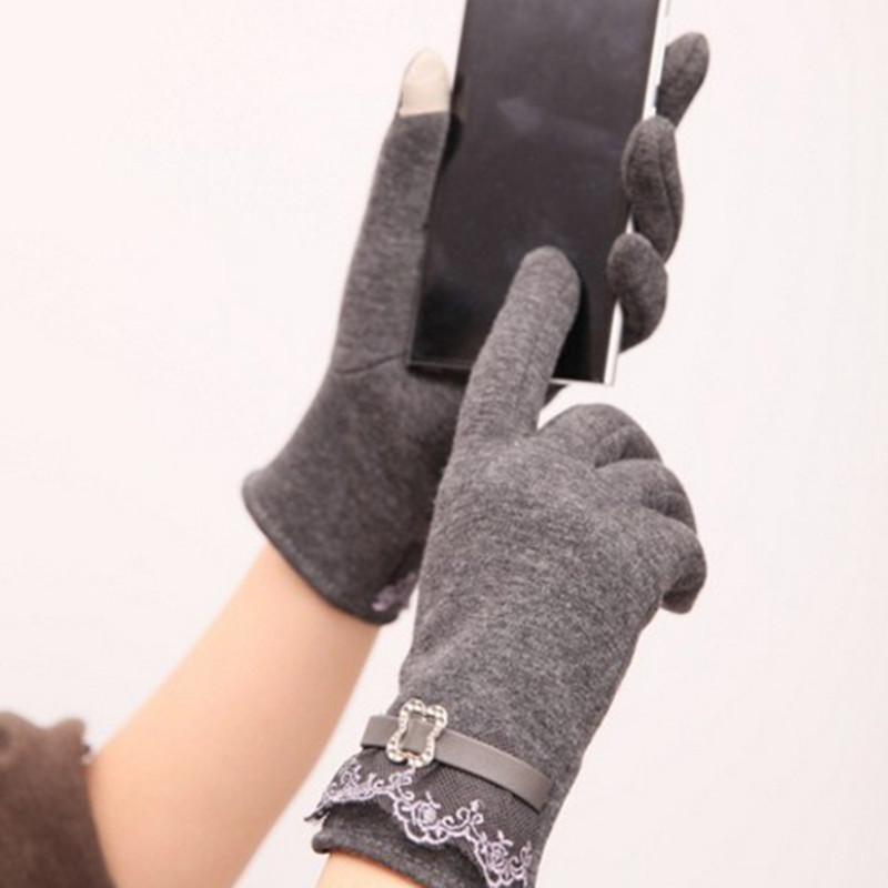 Touch Screen Gloves Ladies Mens Use Device While Keeping Hands Cosyan Warm Free Shipping