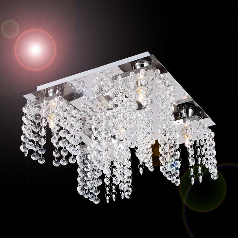 decoracao em lampadas:de decoração com 5 lâmpadas em cristal para sala quarto corredor em