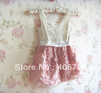 babyGirls party dress, toddler Girls floral dress, Baby clothes, baby dress,kids dress,5pcs/lot,AL2001