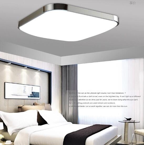 2015 Modern LED Ceiling ligh Square 12W 30CM led Ceiling Lamp kitchen light bedroom modern livingroom free shipping(China (Mainland))