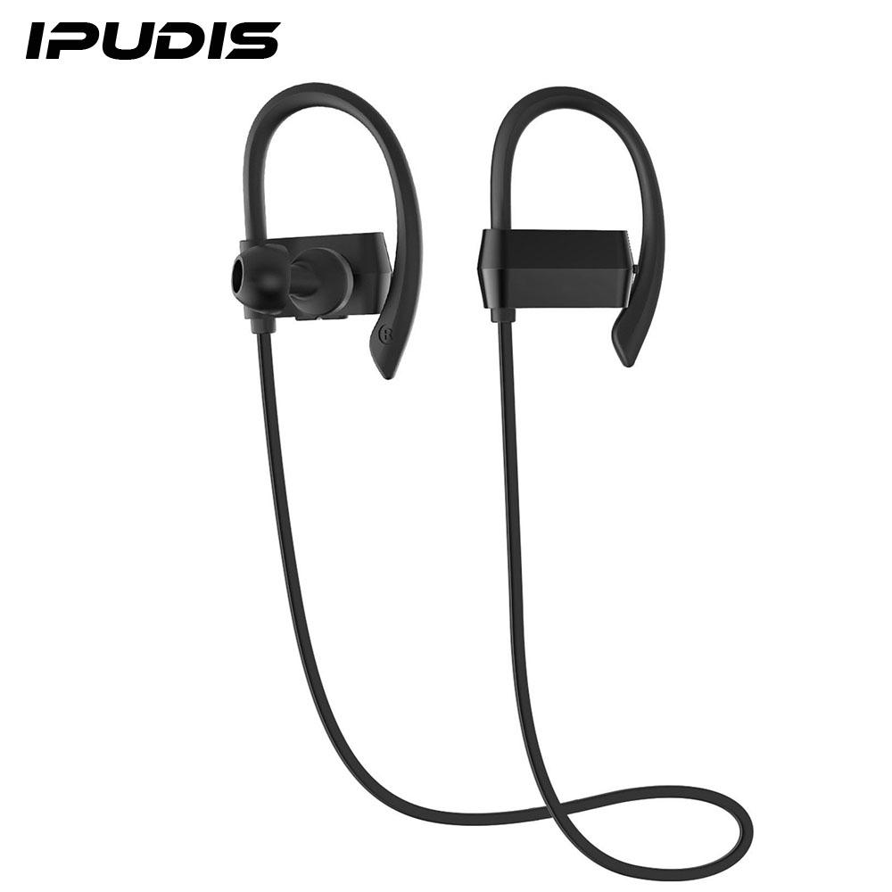 IPUDIS Nano Coating Waterproof Bluetooth Earbuds Ear Hook Earphone Sport Wireless Headset portable Headphone(China (Mainland))