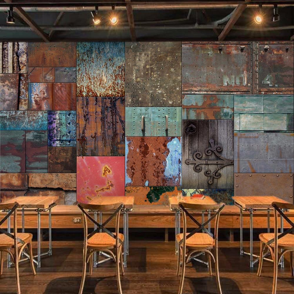 Popular wood fiber sheets buy cheap wood fiber sheets lots for Cafe wall mural