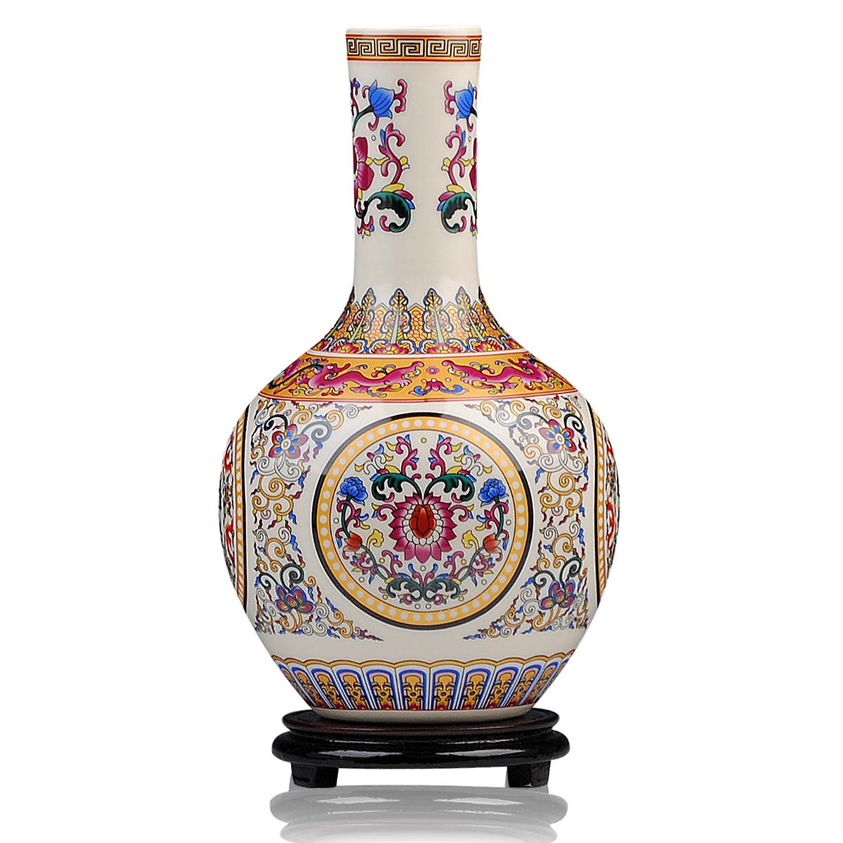 Geel aardewerk vaas promotie winkel voor promoties geel aardewerk vaas op - Decoratie zen kamer ...