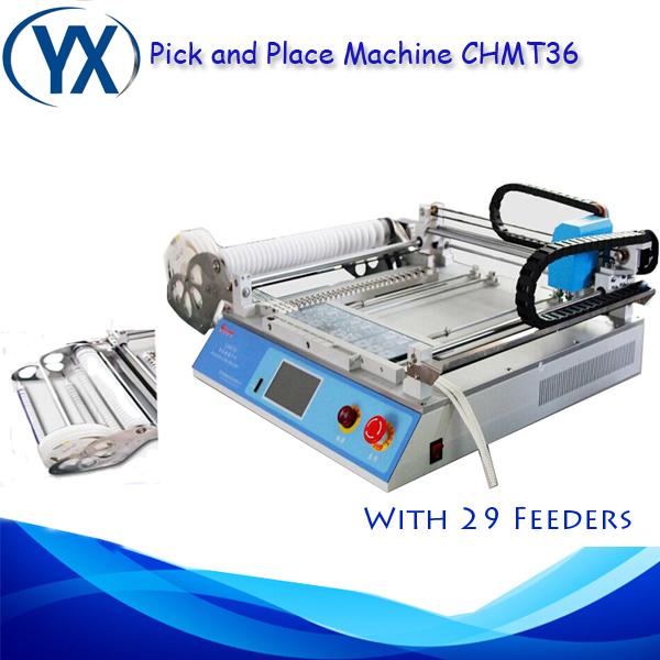 CHMT36 SMT SMD LED Pick and Place Machine/Automatic SMT Mounter SMD Pick and Place Machine/Pick Place SMT(China (Mainland))