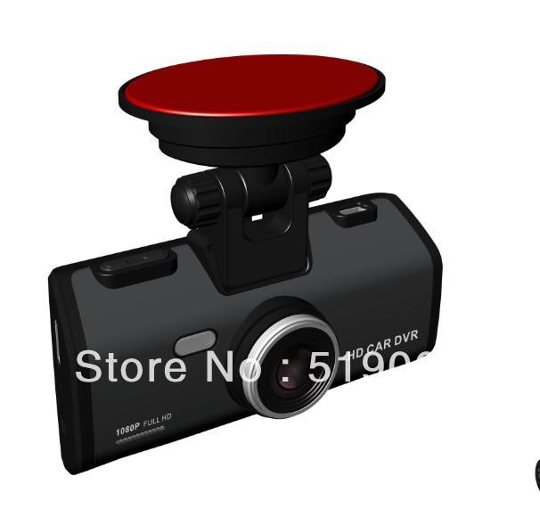3PCS/LOT,Wholesale Car DVR Camera with 2.5 inch TFT G-sensor Motion Detection 1080P H.264 Vehicle Video Recorder 3.0 Mega Pixels