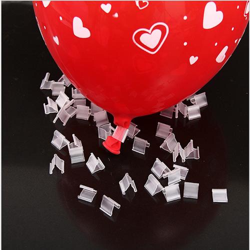 "50 Pcs/ Lot ""V"" Shape Balloons Sealing Clip Balloon Clips Ballon Clips Accessories Wedding Party Decoration Balloon Buttons(China (Mainland))"