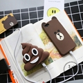 NEW Defecate Poops Emoji power bank 3000MAH Cute Cartoon powerbank portable External battery pack charger with