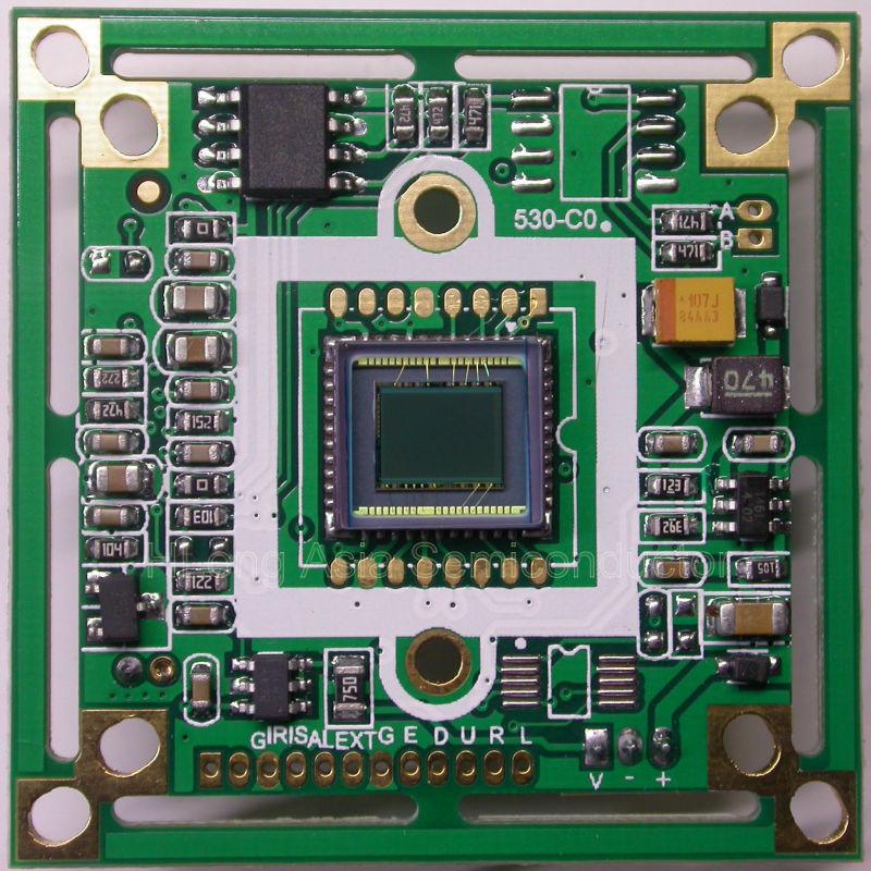"Panasonic HD 1/3"" CCD image sensor board, Nextchip NVP2041 DSP, 800TVL, CCTV board, camera module.(China (Mainland))"