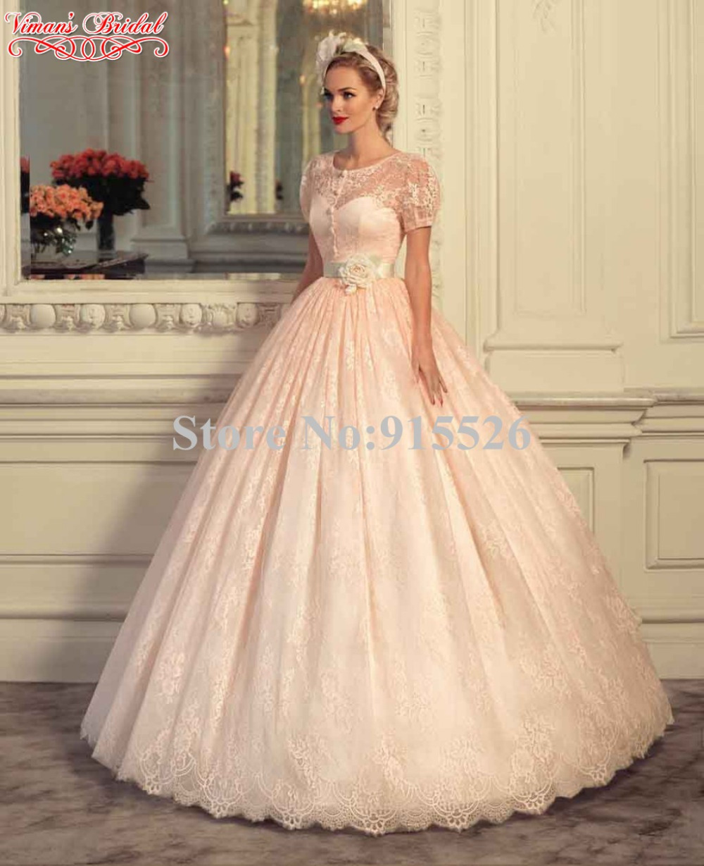 buy 2015 viman 39 s bridal peach colored