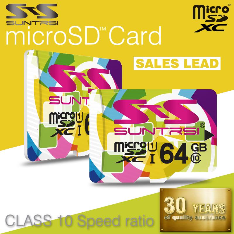 Suntrsi Micro SD Card Memory Card Real Capacity Micro SD Card 32GB Class 10 Microsd High Speed Microsd TF Card Free Shipping(China (Mainland))