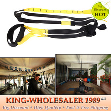 2015 NEW Fitness Resistance Bands Body Building Hanging Training Strap Comprehensive Fitness Exercise Equipment Free Shipping