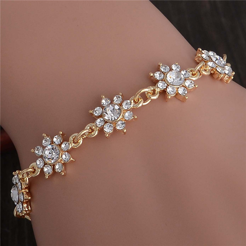 hand bracelet for girls in gold wwwimgkidcom the