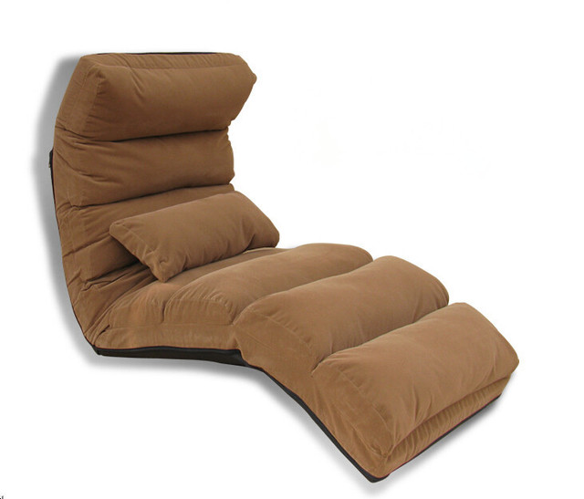 Japanese Living Room Furniture 5 Colors Floor Seating Adjustable Foldable Uph