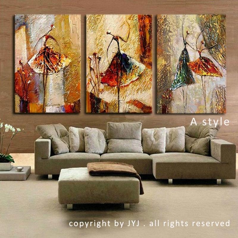 Hand bemalt modernen abstrakte lgem lde for Wand kunst wohnzimmer