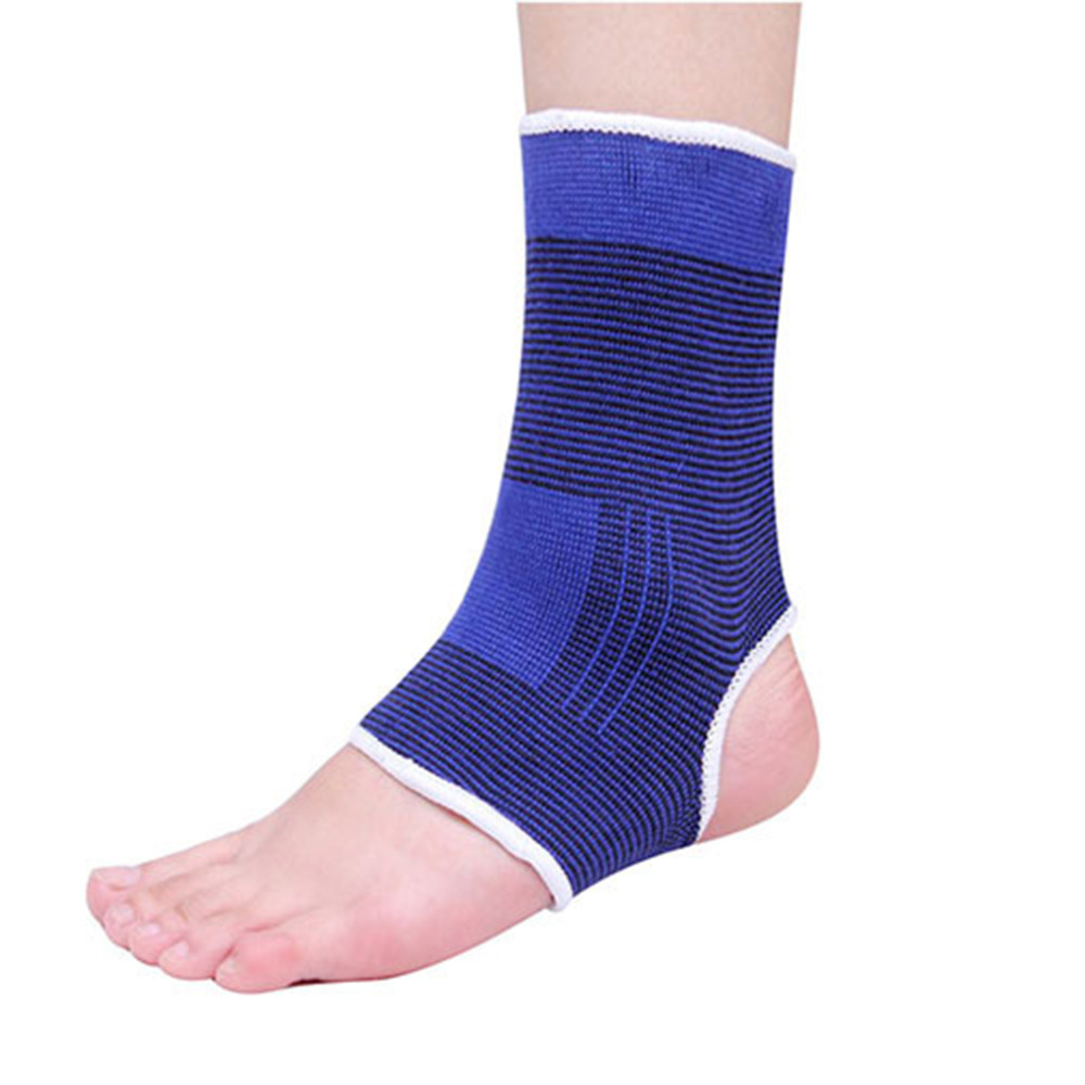 Sales Promotion Elastic Compress Ankle Brace Support Arthritis Bandage Sprain Foot Wrap wholesale(China (Mainland))