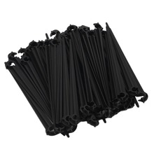 50pc 11cm Hook Fixed Stems Support Holder for 4/7 Drip Irrigation Water Hose(China (Mainland))