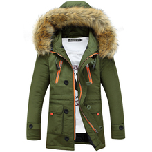 Free Shipping 2015 Hot Fashion Clothes Men Down Jacket Coat Warm Jackets Men Sportswear Winter Mens Winter Parka With Fur Hood