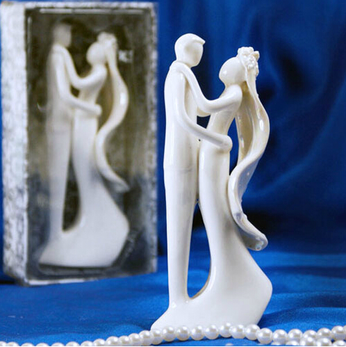 Free shipping 2sets/lot Wedding Cake Accessory Cake Topper bride and groom join together(China (Mainland))