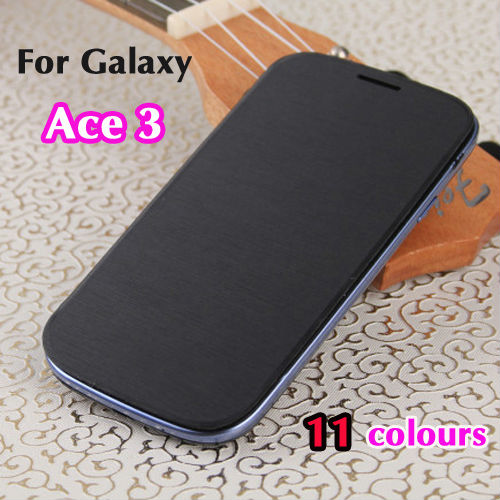 Samsung Galaxy ACE 3 ACE3 S7270 S7272 Flip Leather Back Cover Cases Battery Housing Case + Retail Packaging - Look at the sky store