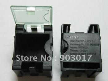 DIY Anti-static SMD SMT Electronic Component Mini storage box Black 50 pcs per lot