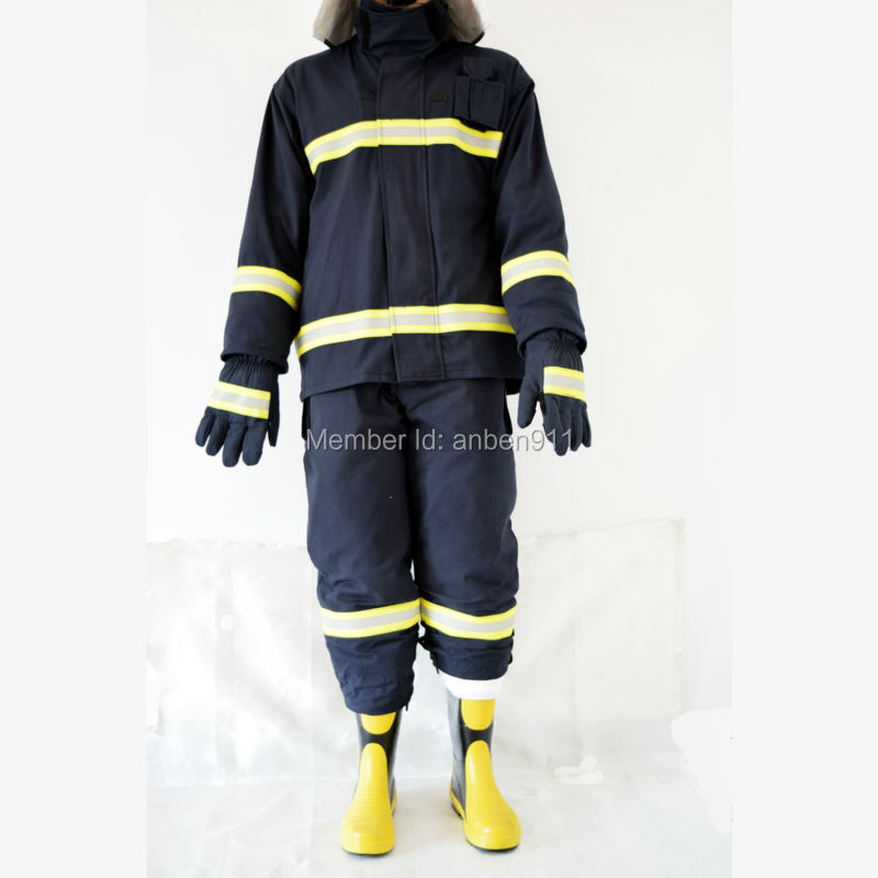 2017 New Factory direct sale CE and NFPA Firemen Fire Fighting Suit Fire safety clothing