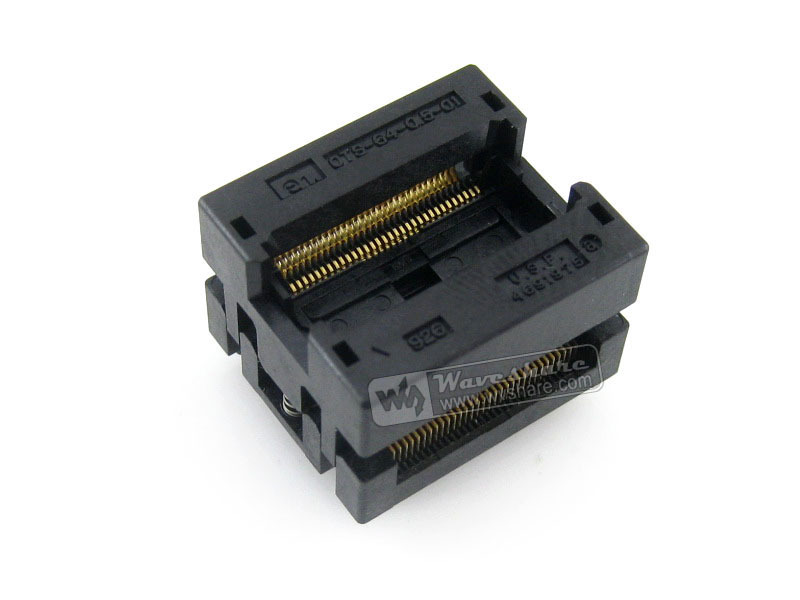 Enplas IC Test Socket Adapter OTS-64-0.5-01 0.5mm Pitch SSOP64 TSSOP64 Package Free Shipping<br><br>Aliexpress