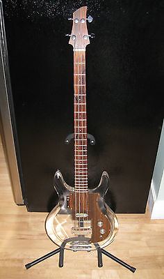 Vintage Dan Armstrong Ampeg bass owned by Tom Petersson of Cheap Trick w/ case(China (Mainland))
