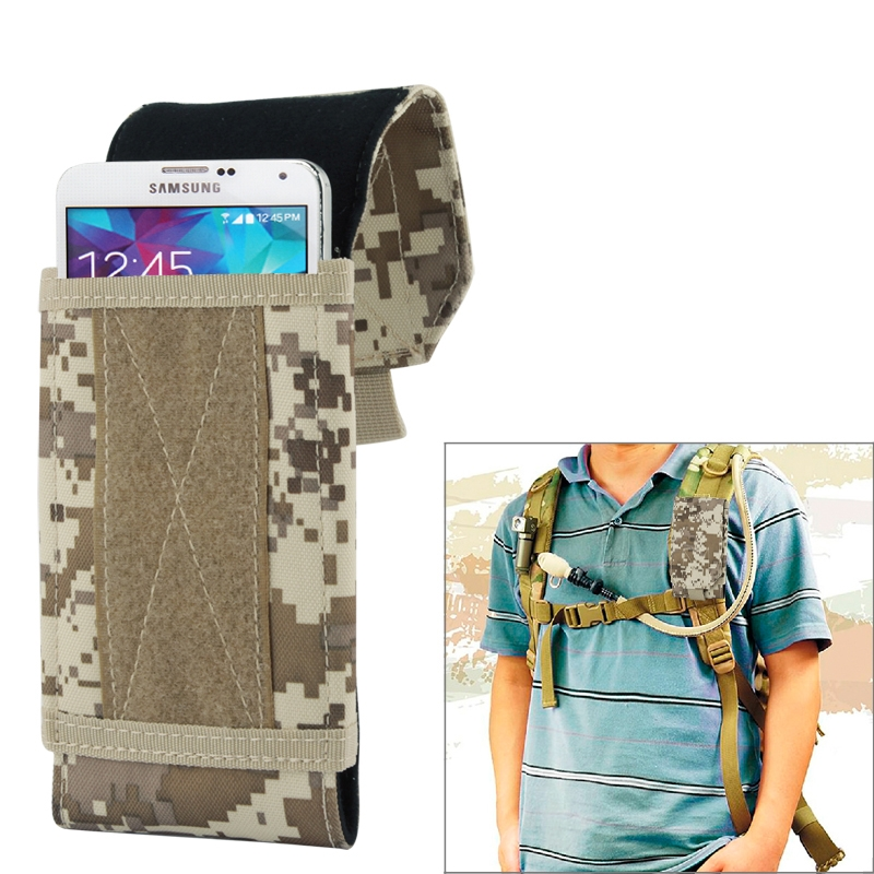 Universal Stylish Outdoor Water Resistant Fabric Cell Mobile Phone Bag Case, Size: approx. 17cm x 8.3cm x 3.5cm(China (Mainland))