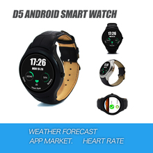 NO.1 D5 Android Smart Watch Waterproof  Bluetooth SIM Card GPS WIFI Smartwatch for iphone Samsung Huawei Xiaomi Android Phone