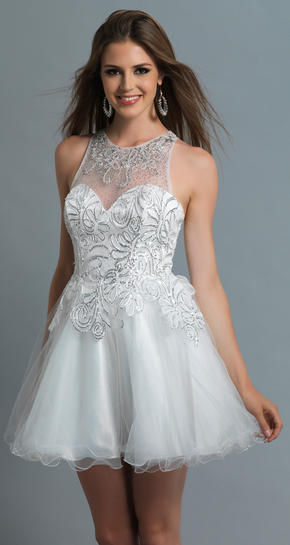High Quality White Short Graduation Dress Promotion-Shop for High ...