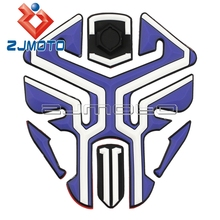 Buy New 3D Rubber Motorbike Motorcycle Tank Pad Protector For Honda Yamaha Fazer R1 R6 Kawasaki Fuel Tank Decals Stickers for $9.67 in AliExpress store