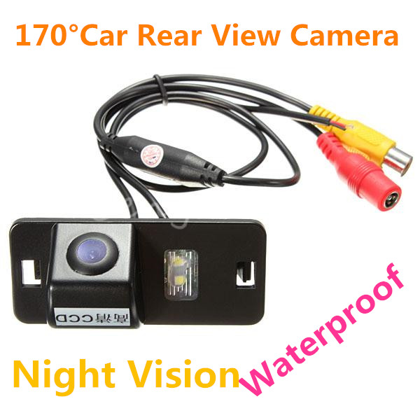 170 Degree Waterproof LED Night Vision AV CMOS Color Car Auto Front Backup Rear View Reverse Parking Camera For BMW E39 E46 X5 6(China (Mainland))