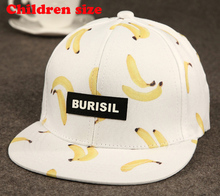 Cool 2016 New Fruit pattern Adult & Kids Fashion Caps Children Baseball Caps For Boys Girls Sun Hip Hop Snapback Caps Summer Hat(China (Mainland))