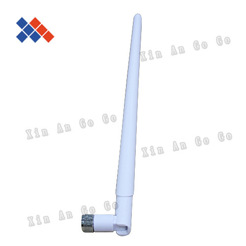 white color 2.4G 10DB WIFI antenna with RP-SMA connector for router network free shipping