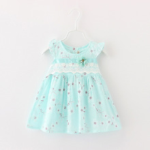 2015 New Summer Style Dresses For Newborns Girls Cotton Baby princess dresses For Babies Children Clothing(China (Mainland))