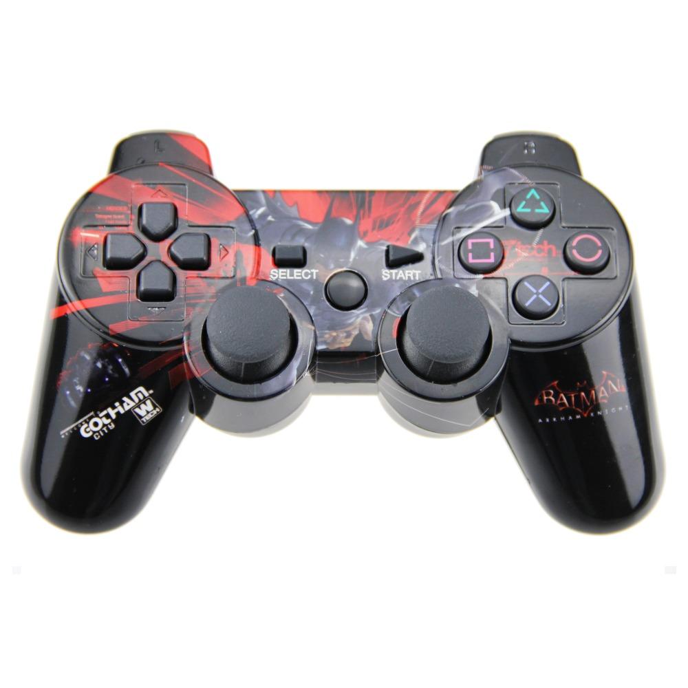 PS3 Wireless Controller Double Vibration Joystick Joypad Gamepad For PS3 Playstation 3 (Batman)(China (Mainland))