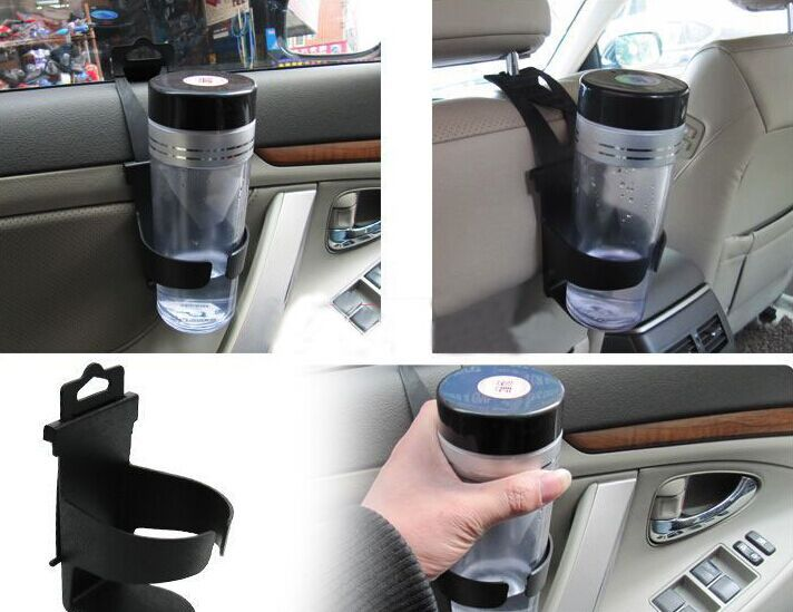 New 2015 Black Universal Car Truck Door Mount Drink Bottle Cup Holder Stand NEW