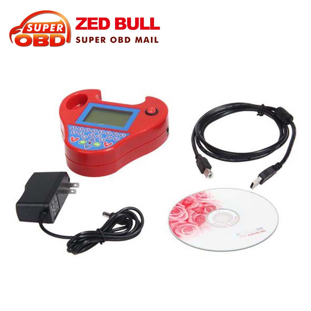2016 Newest designed ! New Auto Key Programmer Mini Zed Bull key programmer with good technic support smart zedbull FreeShipping(China (Mainland))