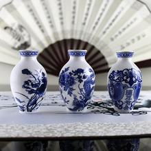Aimant Imanes De Nevera réfrigérateur aimants Vase en céramique magnétique autocollants décoration De la maison bleu et blanc porcelaine(China (Mainland))