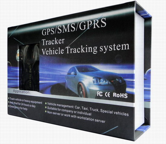 Professional Vehicle Car GPS Tracker 103A with Remote Control GSM Alarm SD Card Slot Anti-theft/car alarm system free shipping