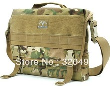 MAXGEAR Tactical Military MOLLE Briefcase Velcro Laptop Messenger Bag Outdoor Casual 1000D Waterproof CORDURA Sling Pack(China (Mainland))