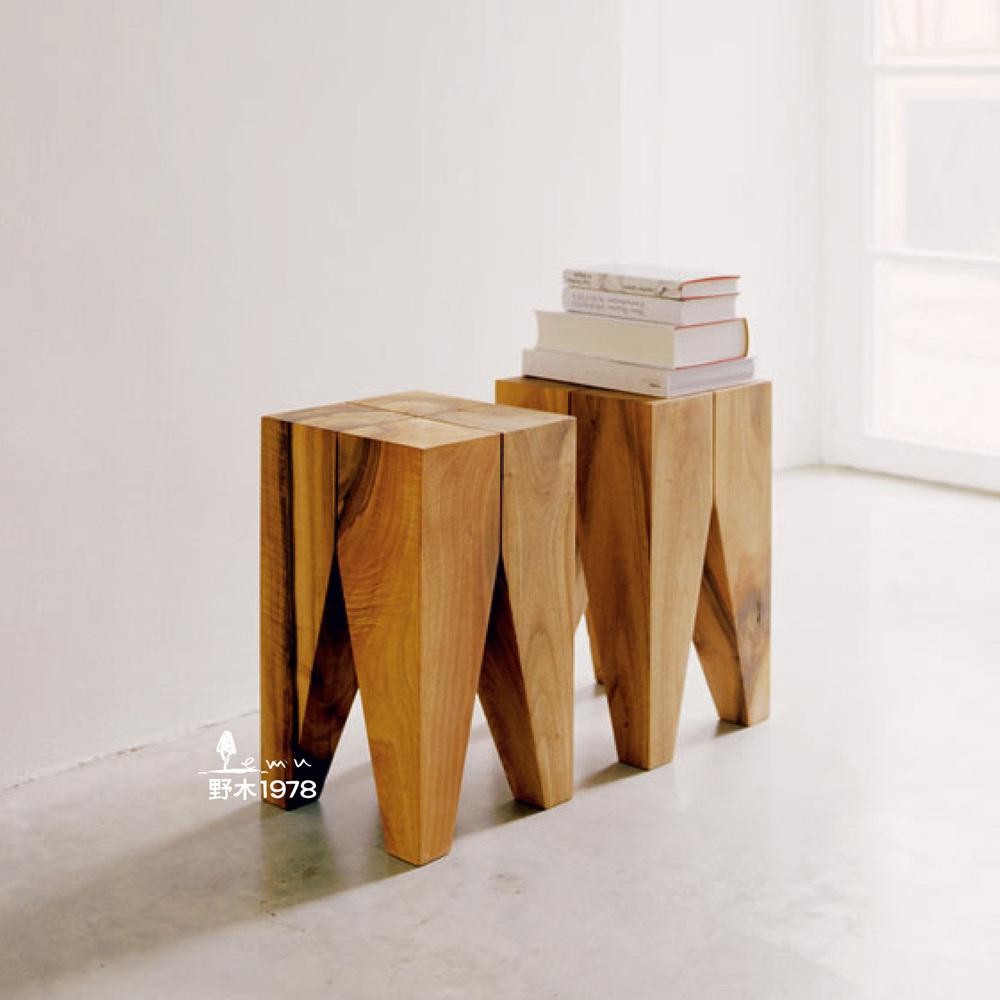 Nordic bûches de bois pures pleine tenon main personnalisé Fangdeng e15 table