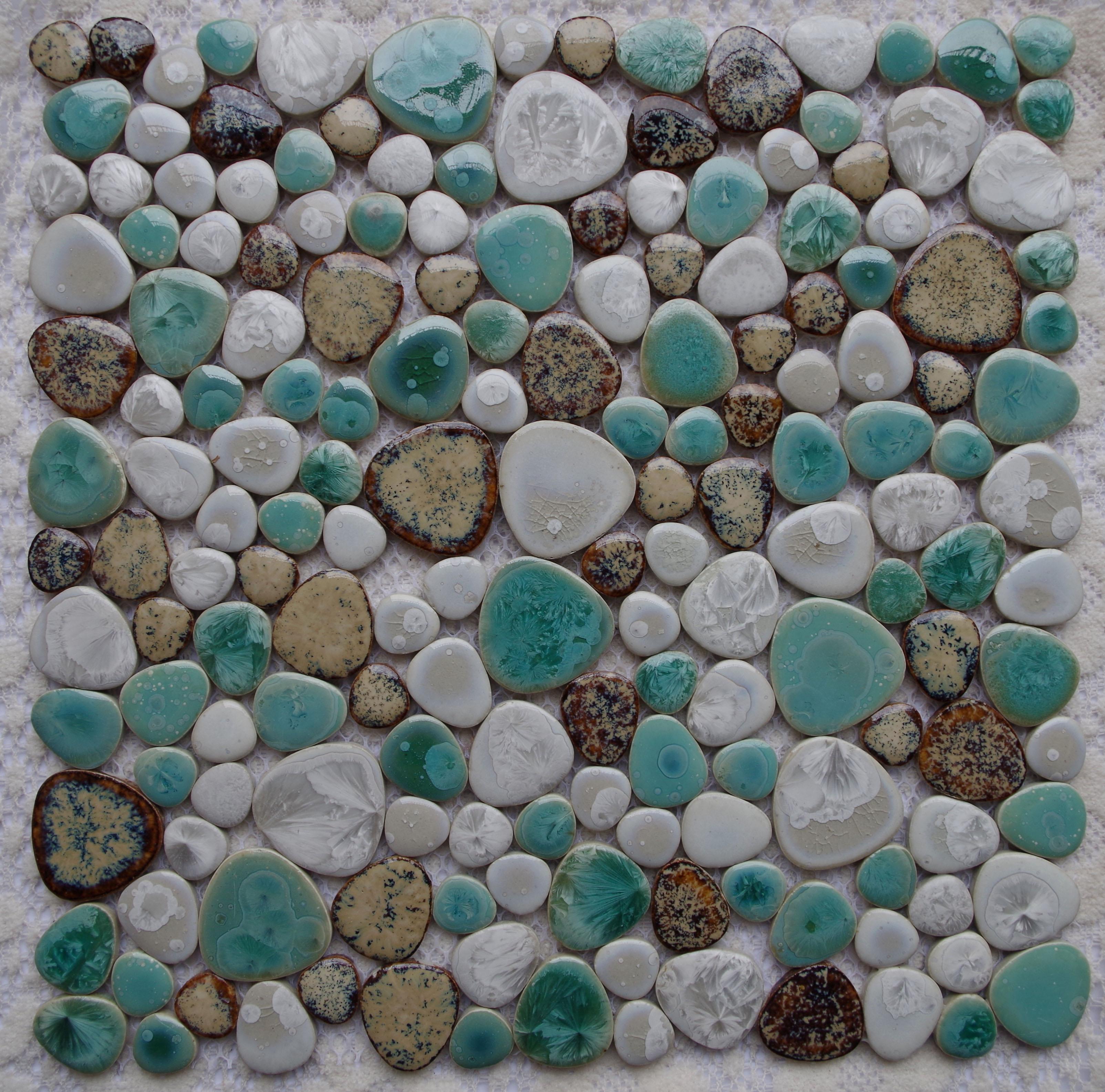 Wohnzimmerz: Mosaikfliesen Bad With Pebble Fliesen MosaikKaufen ...