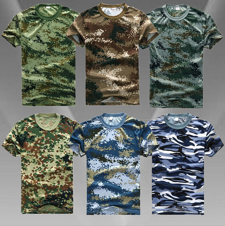 man casual camouflage t shirt men cotton army tactical combat t shirt. Black Bedroom Furniture Sets. Home Design Ideas